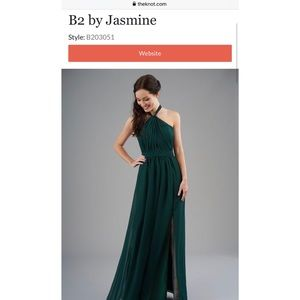 B2 By Jasmine Bridesmaid Dress
